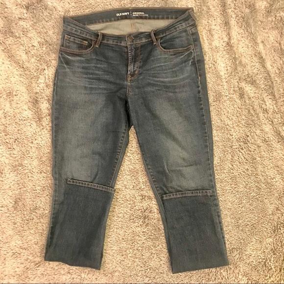 Old Navy Denim - Dark Wash Mid-Rise Skinny Jeans